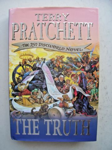 The Truth by Terry Pratchett (Hardback, 2000)
